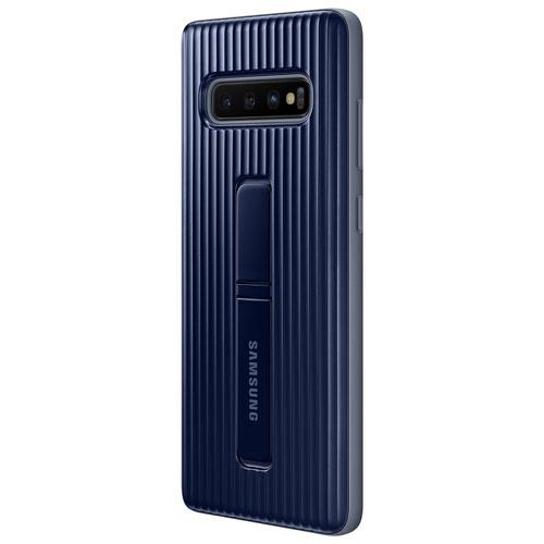 Samsung EF-RG975CBEGCA Protective Standing Fitted Hard Shell Case for Galaxy S10+ - Navy (New Others)