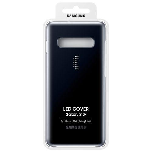 Samsung EF-KG975CBEGCA LED Fitted Soft Shell Case for Galaxy S10+ - Black (New Others)