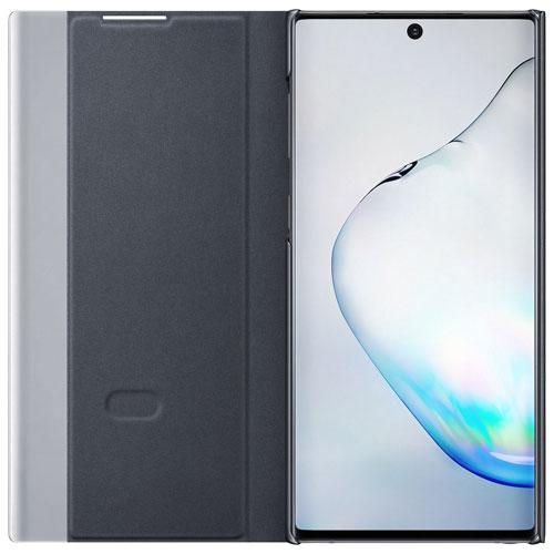 Samsung EF-ZN970CBEGCA Clear View Fitted Hard Shell Case for Galaxy Note10 - Black (New Other)