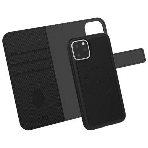 LBT iP1158FSWBK Switch 3-in-1 Wallet Case for iPhone 11 Pro - Black (Open Box) ***READ***