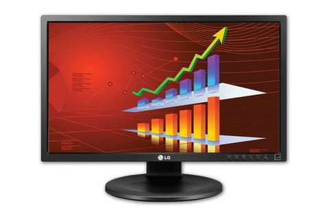 "LG 22MB35PU-I 22"" LED Back-Lite IPS Monitor with Built-In Speakers (Factory refurbished)"