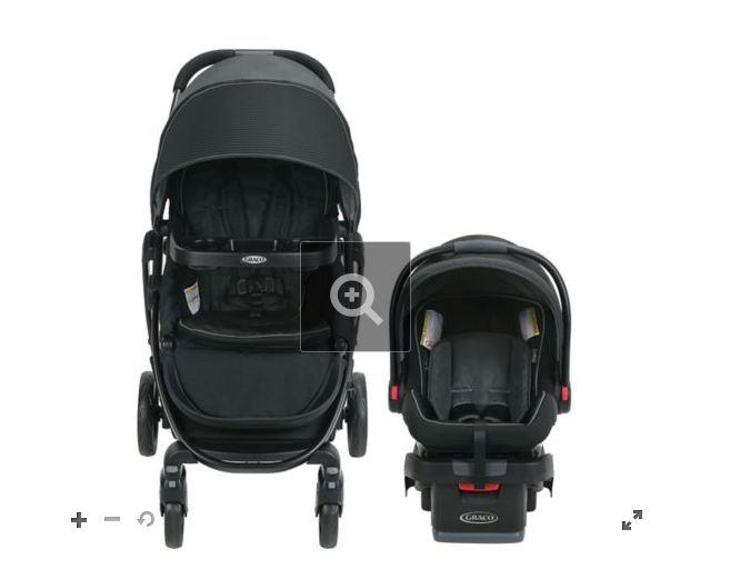 Graco 7AL14DYOCA  Modes Dayton Travel System - Black