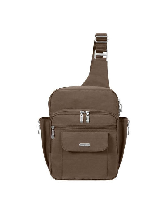 Baggallini MES160PRTMM Messenger Travel Bag Portobello (New Other)