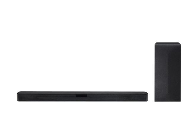 LG SN4 2.1 Channel 300 Watts Sound Bar System with Wireless Subwoofer