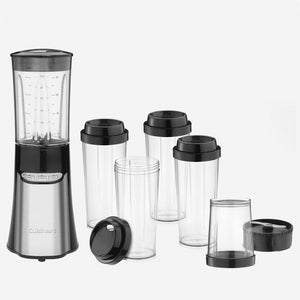 Cuisinart CPB-300C 0.95L 350-Watt Compact Blender - Brushed Stainless Steel (Open box)