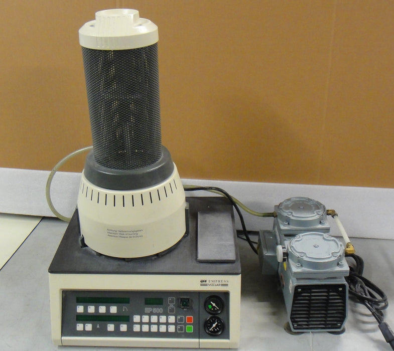 Ivoclap IPS empress EP500 / press ache empress porcelain funice with vacuum pump (Used)