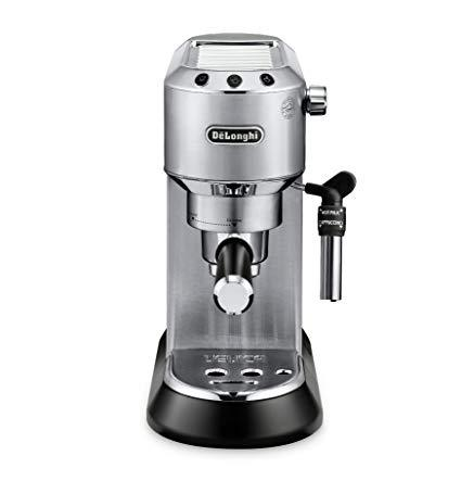 DeLonghi EC685M Dedica DeLuxe Manual Espresso Machine - Silver (Open box)