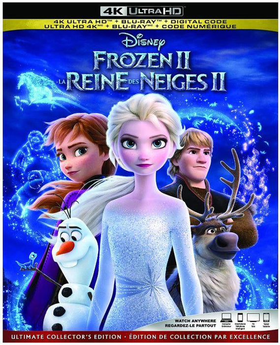 Frozen 2 [4K Ultra HD + Blu-ray + Digital] (Bilingual)