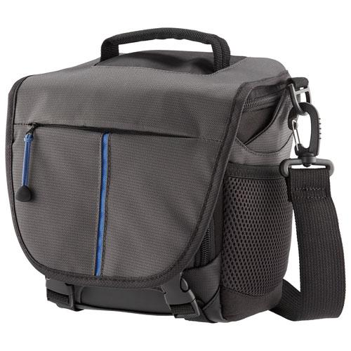 Insignia NS-DMBBG18-C DSLR & Mirrorless Camera Shoulder Bag - Medium - Grey (New Other)