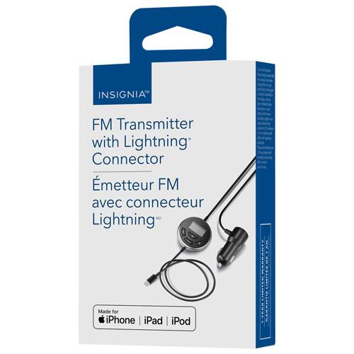 Insignia NS-MA5FMT2-C FM Transmitter with Lighting Connector (Open Box)