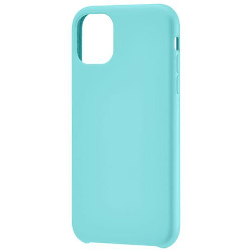 Insignia NS-MAXIMLSAQ-C Fitted Soft Shell Case for iPhone 11 - Aqua Blue (New Other)
