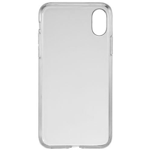 Insignia NS-MAXTC-C Fitted Soft Shell Case for iPhone X/XS - Clear (New Other)