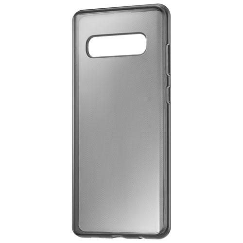 Insignia NS-MGS10HCBL-C Fitted Hard Shell Case for Galaxy S10+ - Semi-Clear Black (New Other)