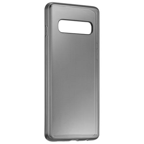 Insignia NS-MGS10HCBM-C Fitted Hard Shell Case for Galaxy S10 - Semi-Clear Black (New Other)