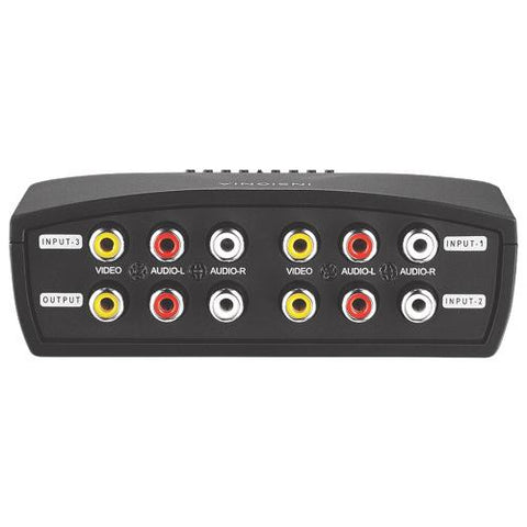 Insignia NS-VS314-C 3-Port A/V Switch (New other)