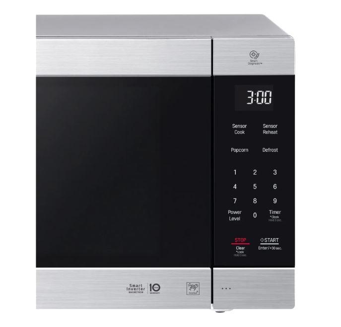 LG LMC2075ST_017 2.0 Cu. Ft. NeoChef Microwave - Stainless Steel ***READ***