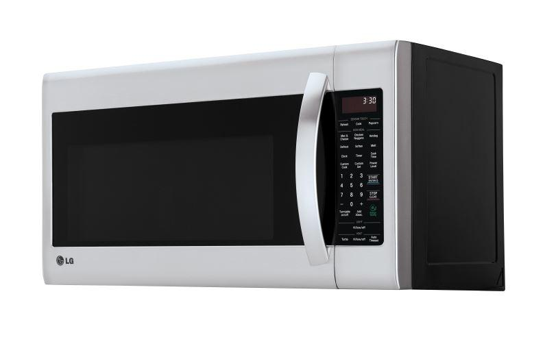 LG LMV2053ST 2.0 cu. ft. Over-the-Range Microwave with EasyClean Interior in Stainless Steel (Factory Refurbished)