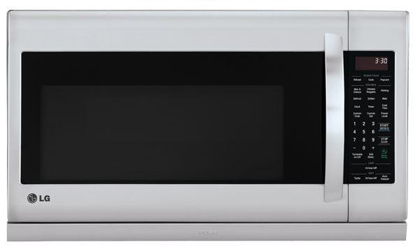 LG LMV2055ST _070 2.0 cu. ft. Over-the-Range Microwave with Slide-Out ExtendaVent in Stainless Steel ** Read **