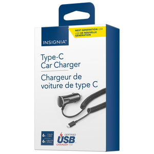 Insignia NS-MDCF36C-C USB Type-C Car Charger (New Others)