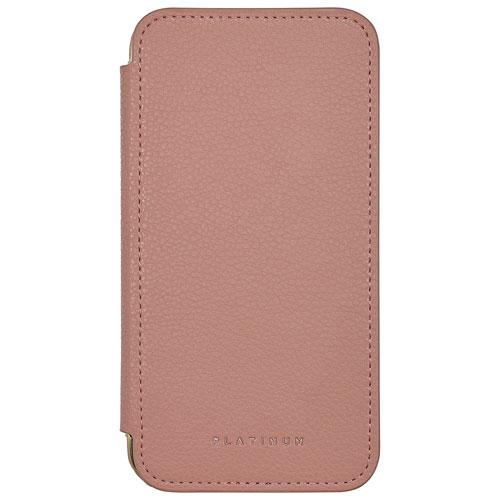 Platinum Series PT-MAXWFP-C Fitted Hard Shell Folio Case for Apple iPhone X - Deep Pink (New Other)