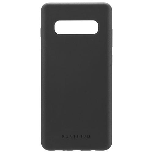 Platinum Series PT-MGS10LSBL-C Fitted Soft Shell Case for Galaxy S10+ - Black (New Other)