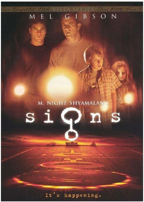 Signs - Vista Series (2002) (French) DVD (New sealed)