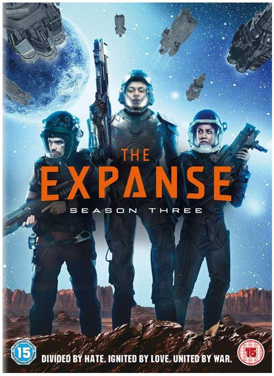 The Expanse: Season 3 DVD (Damage Box / Never Used)