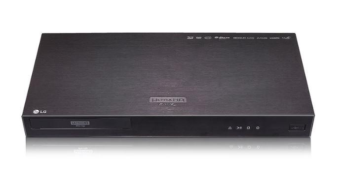 LG UP970 4K Ultra-HD Blu-ray Player with HDR Compatibility  ***READ***