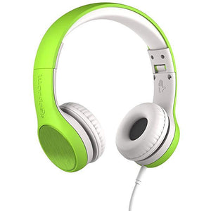 LilGadgets Connect+ Style On-Ear Headphones - Green (Open box)