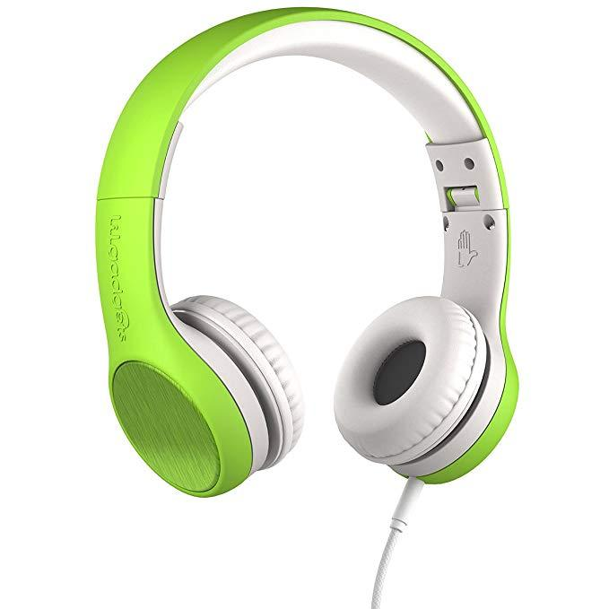 LilGadgets LGCS-06 Connect+ Style On-Ear Headphones - Green (Open box)