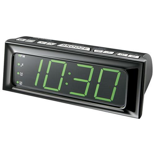 Insignia Audio Docks/Radios Insignia NS-CLOPP2-C AM/FM Clock Radio - Black (Open Box)