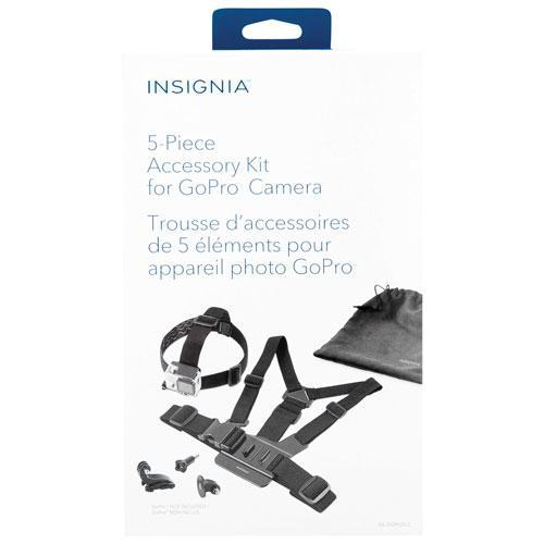 Insignia Audio/Video Accessories Insignia NS-DGPK05-C 5-Piece Accessory Kit for GoPro (Open Box)