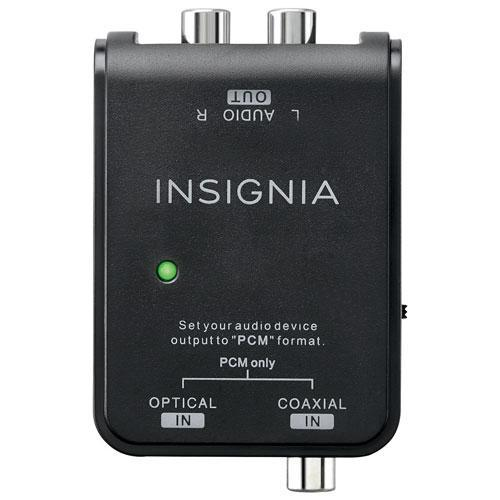 Insignia Audio/Video Accessories Insignia NS-HZ313-C 0.91m (3 ft.) Digital to Analog Audio Converter Cable (Open Box)