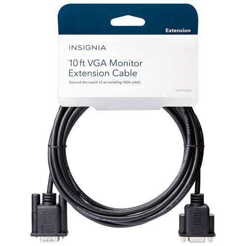 Insignia Cables/Connectors Insignia NS-PV10509-C 3m (10 ft.) VGA Extension Cable (Open Box)