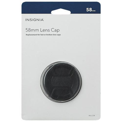 Insignia Camera/Camcorder Accessories Insignia NS-LC58-C 58mm Lens Cap (Open Box)