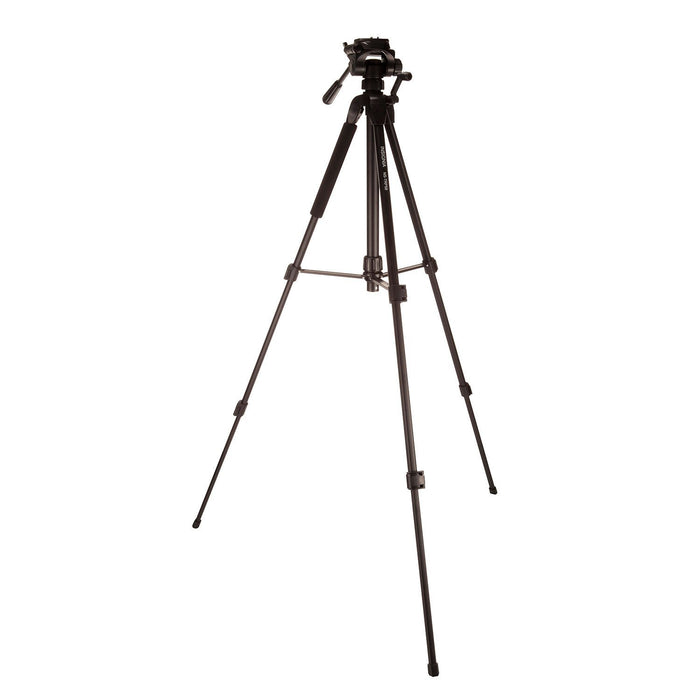 "Insignia Camera/Camcorder Accessories Insignia NS-TRP58-C 58"" Tripod 3-way pan head and quick-release plate (Open Box)"