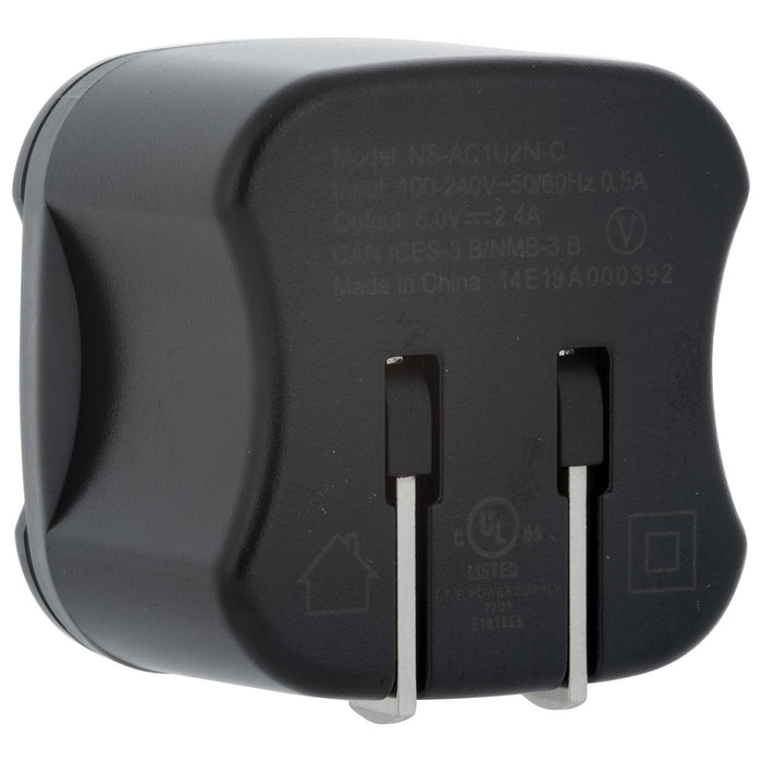 Insignia Cell Phone Accessories Insignia NS-AC1U2M-C 1m (3.3 ft.) Micro USB Wall Charger - Black