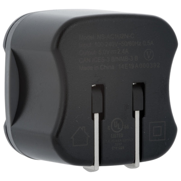Insignia Cell Phone Accessories Insignia NS-AC1U2N-C Universal Wall Charger  - Black
