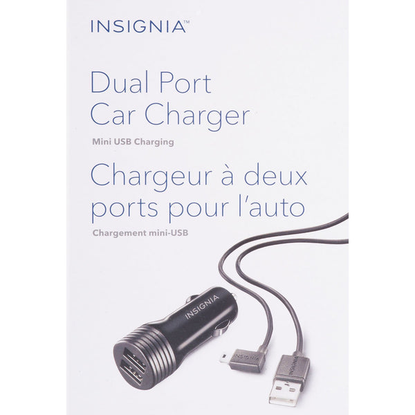 Insignia Cell Phone Accessories Insignia NS-DDC01-C Dual USB Universal Car Charger (OpenBox)