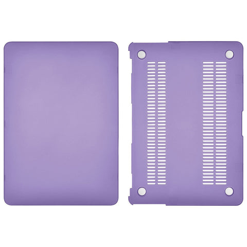 "Insignia Computer/Tablet Accessories Insignia NS-MMP132U-C Viola 13"" Shell Case for MacBook Air – Purple (New Other)"
