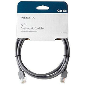 Insignia Computer/Tablet Accessories Insignia NS-PNW5506-C 1.8 m (6 ft.) Cat5e Network Cable (Open Box)