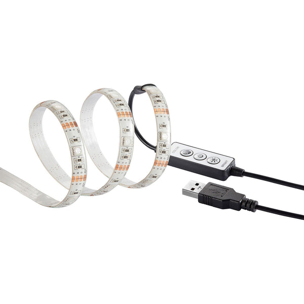 Insignia LED Light Insignia NS-PCG6RGB18-C 6' RGB Multi-Colour Dimmable LED Strip Light (New Other)