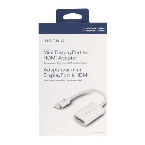 Insignia TV Accessories Insignia NS-PD94592-C Mini DisplayPort to HDMI Adapter (open box)