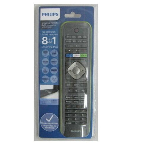 Philips TV Accessories Philips SRP5018/27  8-in-1 Universal Remote Control (Open Box)