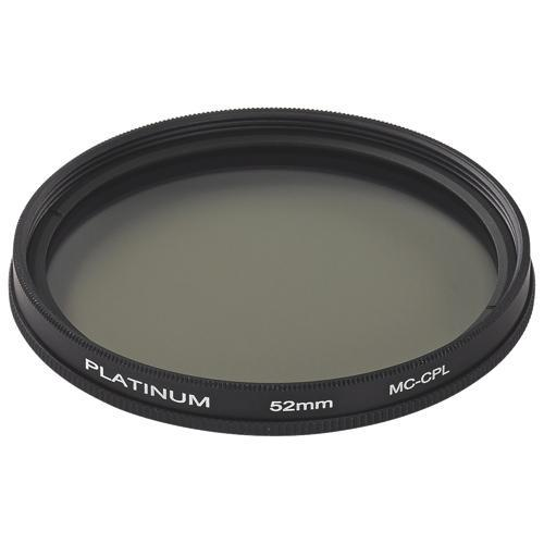 Platinum Series Camera/Camcorder Accessories Platinum PT-MCCP52-C 52mm Camera Polarizing Filter (Open Box)