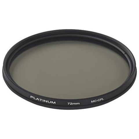 Platinum Series Camera/Camcorder Accessories Platinum PT-MCCP72-C 72mm Camera Polarizing Filter (Open Box)