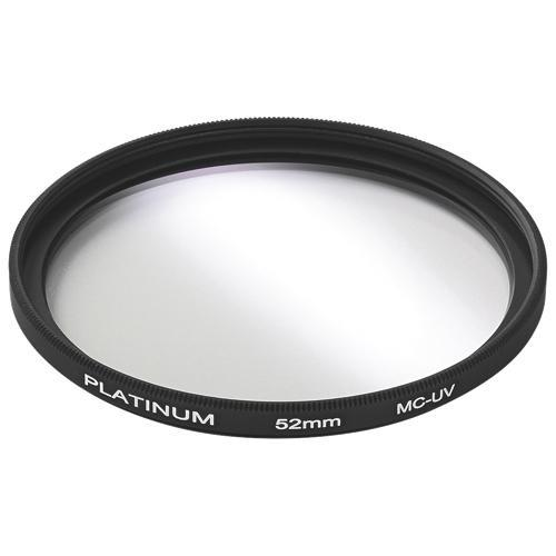 Platinum Series Camera/Camcorder Accessories Platinum PT-MCUVF52-C 52mm Camera UV Filter (Open Box)