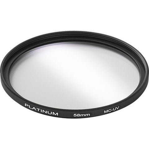 Platinum Series Camera/Camcorder Accessories Platinum PT-MCUVF58-C 58mm Camera UV Filter (Open Box)
