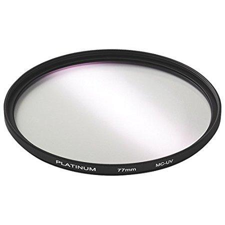 Platinum Series Camera/Camcorder Accessories Platinum PT-MCUVF77-C 77mm Camera UV Filter (Open Box)