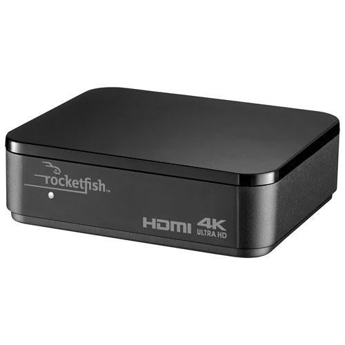Rocketfish TV Accessories Rocketfish RF-G1603-C 3-Port 4K HDMI Splitter (Open Box)